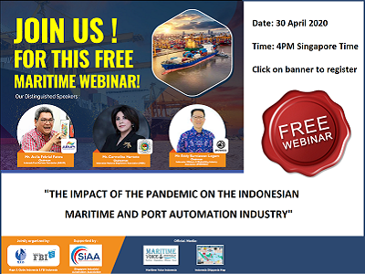 Singapore-Industrial-Automation-Association-SIAA-event-2020-Indonesia, Indonesian-maritime-port automation-webinar